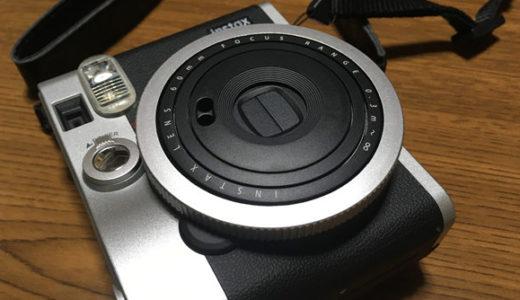 """【チェキ mini90 ネオクラシック】絶妙なサイズとデザインのインスタントカメラ[Convenient and Fun Instant Camera """"Cheki""""]"""